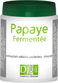 Etiquette Papaye Fermentée 180 gélules djform