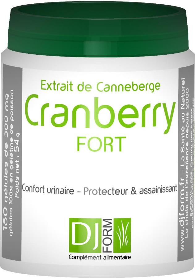 Cranberry Fort - Extrait de Canneberge - Djform