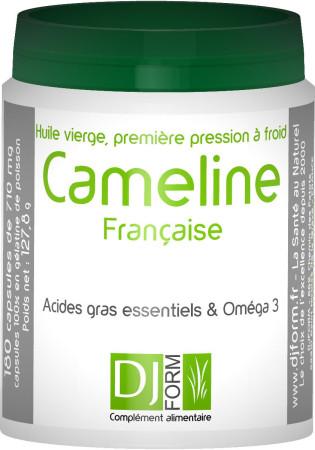 Huile de Cameline Française - Oméga 3 Végétal - Djform