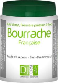 Etiquette Huile de Bourrache Française Djform 180 capsules