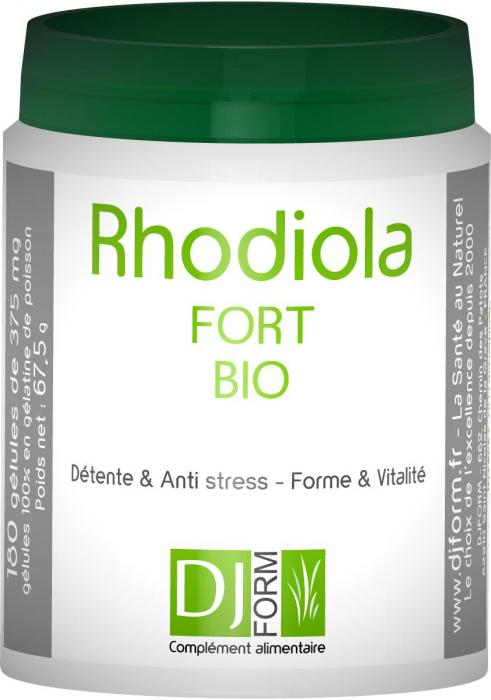 Rhodiola Fort Bio - Djform