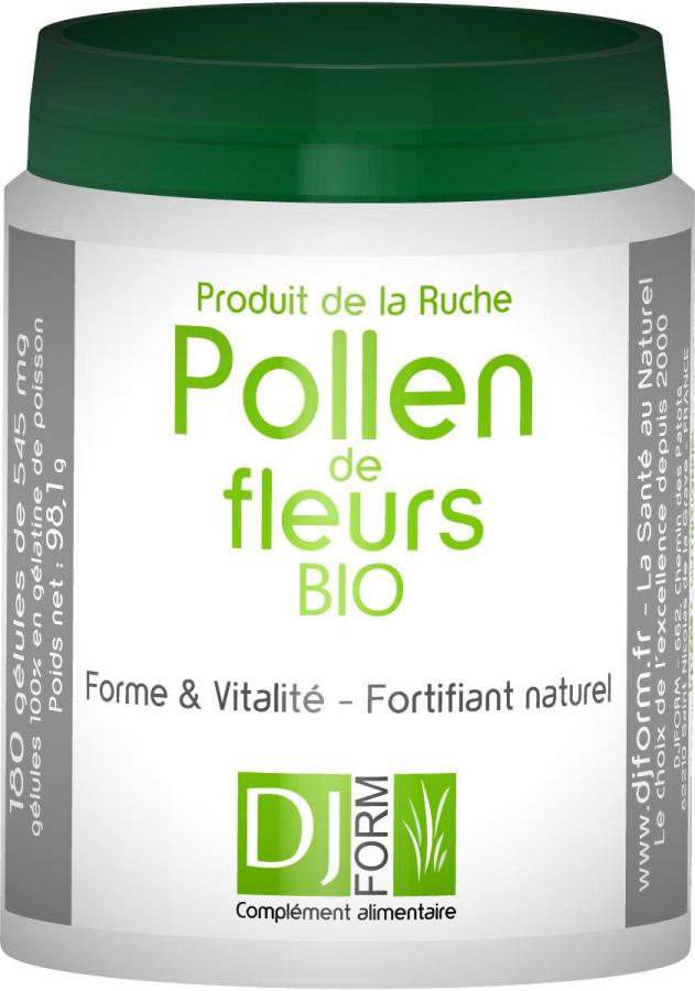 Pollen de Fleurs Bio - Djform