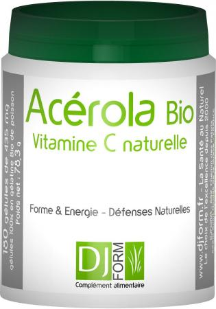 Acérola Bio - Vitamine C Naturelle - Djform
