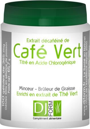 Café Vert - Bruleur de Graisse - Djform