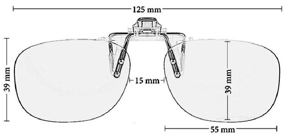 CLiP-ON LITE - PRiSMA® BlueLightProtect - Lunettes de Protection Lumière Bleue
