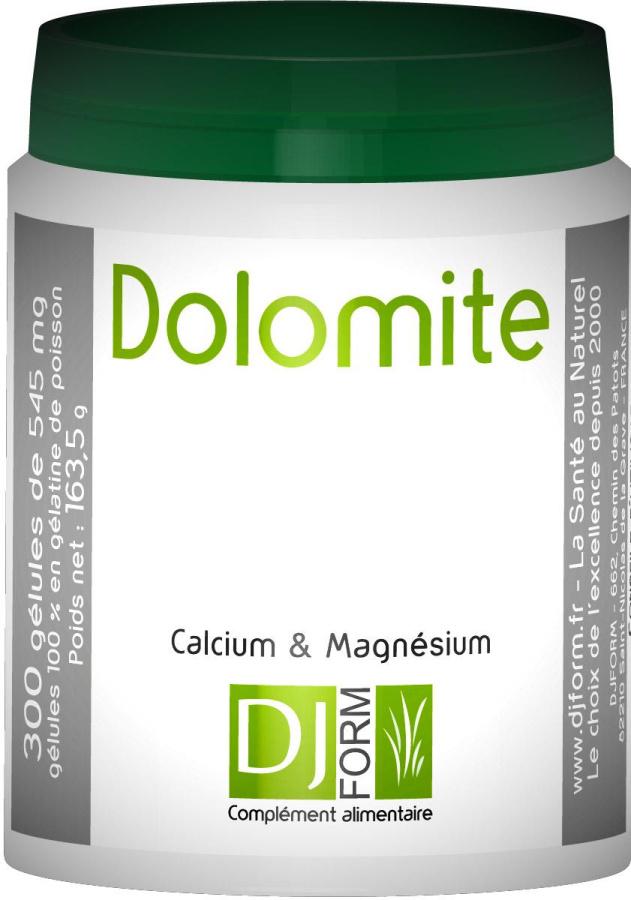 Dolomite - boite de 300 gélules - Djform